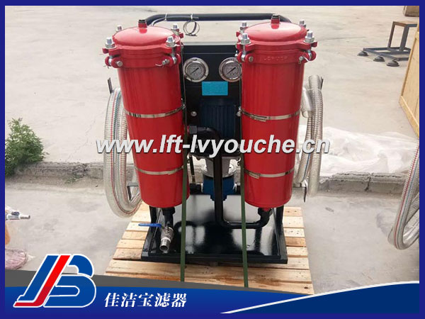LYC-100*10B液压油过滤车