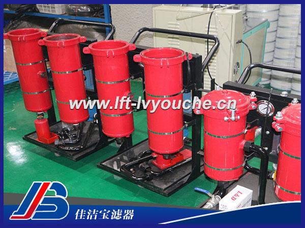 LYC-250*5B小型液压油过滤机
