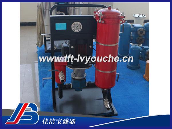 LYC-350*10B高精液压油过滤小车